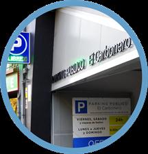 Domótica en el parking público El Carbonero de Oviedo, Asturias